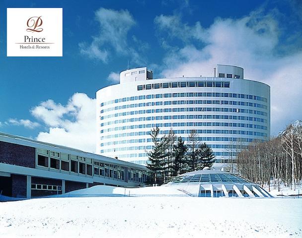 新富良野プリンスホテル 外観(冬)