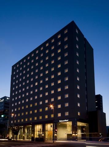 リッチモンドホテル帯広駅前 ホテル外観(夜)