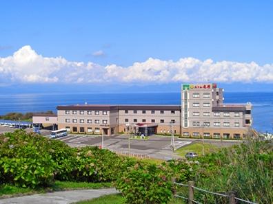 龍飛崎温泉 ホテル竜飛 外観