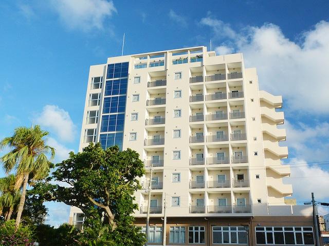 ホテルピースアイランド宮古島市役所通り 外観