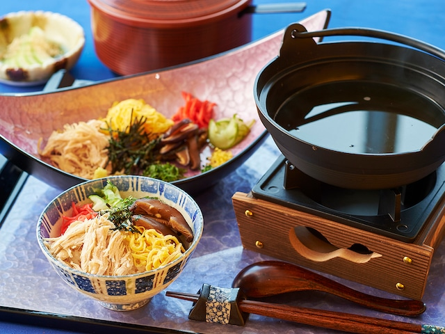 THE SCENE amami spa&resort 料理