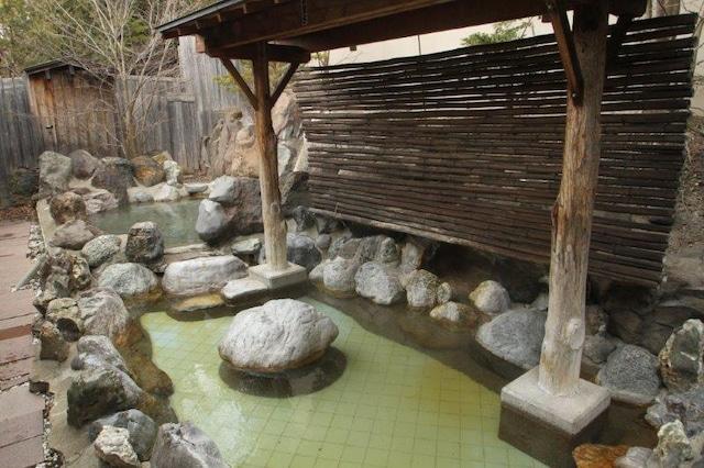 温根湯ホテル 四季平安の館 露天風呂(入れ替え制)