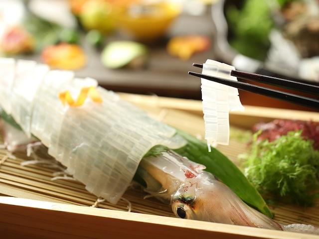 唐津 網元の宿 汐湯凪の音 料理一例