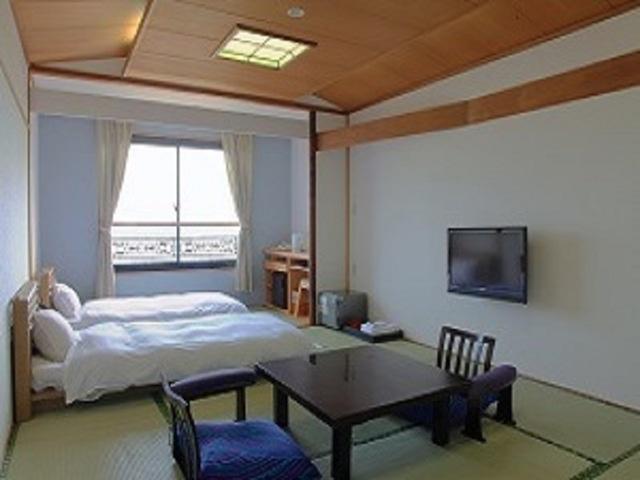 ホテル彩陽 WAKIGAWA 海が見える眺望和室 14畳