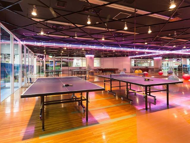 ホテルリソル函館 卓球台