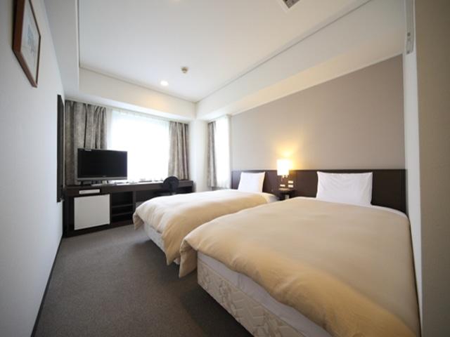 パークサイドホテル広島平和公園前 ツインルーム 17㎡