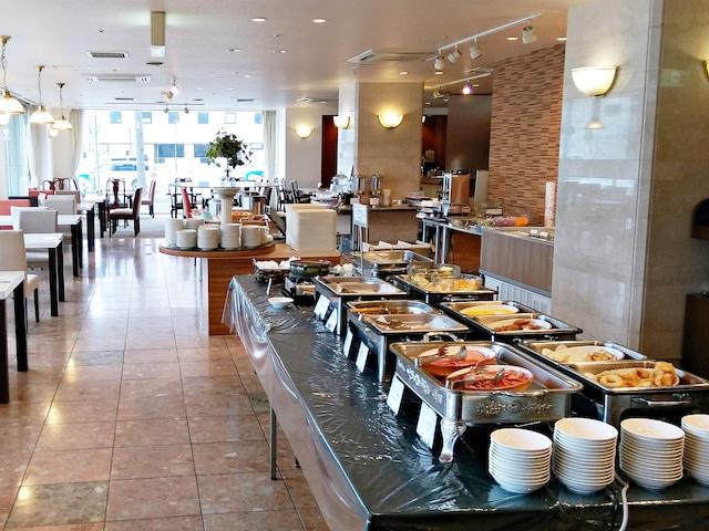 ホテル函館ロイヤル カフェ&レストラン「CUCUMBER TREE」