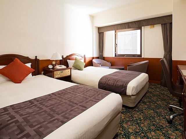 プレミアホテル-CABIN-旭川 ツインルーム(19平米)