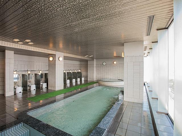 ホテルクレッセント旭川 スカイスパ「シルフクラブ」 大浴場