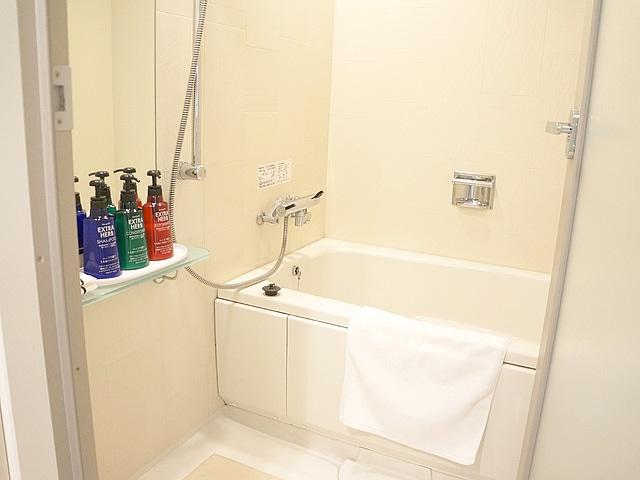 ホテルビスタ札幌中島公園 洗い場付お風呂