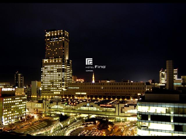 ホテルマイステイズ札幌駅北口 14階レストランからの風景
