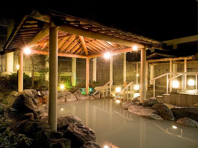 祝いの宿 登別グランドホテル 庭園露天風呂