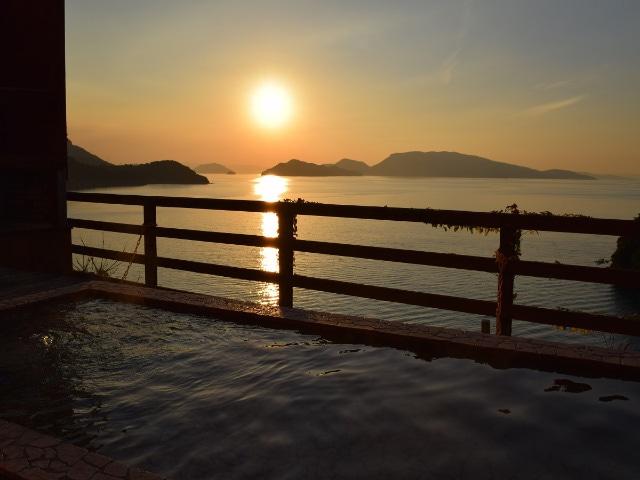小豆島温泉 ホテルグリーンプラザ小豆島 露天風呂