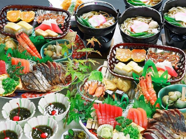 ホテル高砂 皿鉢料理 基本