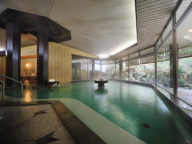 かみのやま温泉 仙渓園 月岡ホテル 大浴場夕鶴「ら・ふらんすの湯」