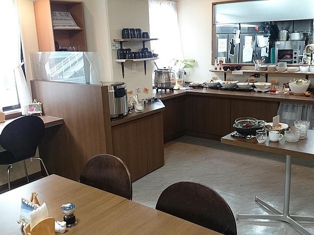ホテルエアウェイ■ 朝食会場