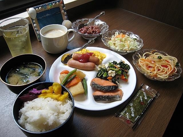 ホテルエアウェイ■ 朝食一例