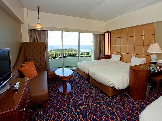 沖縄かりゆしビーチリゾート・オーシャンスパ ウイングタワー 客室一例