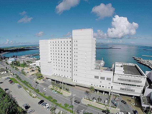 ホテルアトールエメラルド宮古島 全景