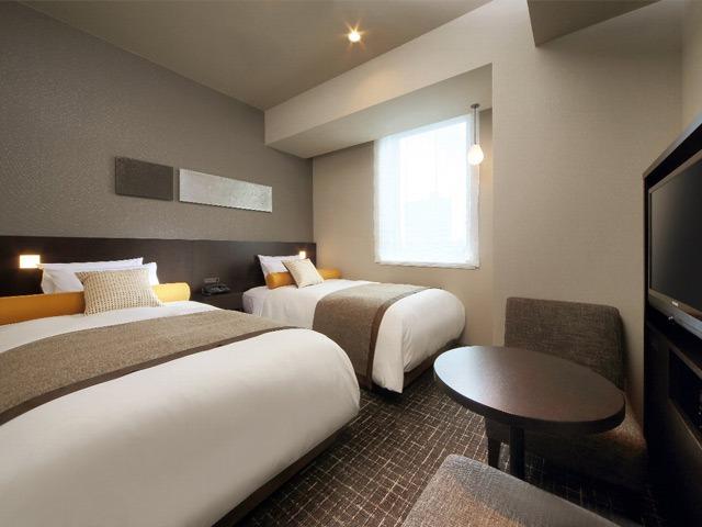 仙台ワシントンホテル カジュアルツインルーム 21㎡