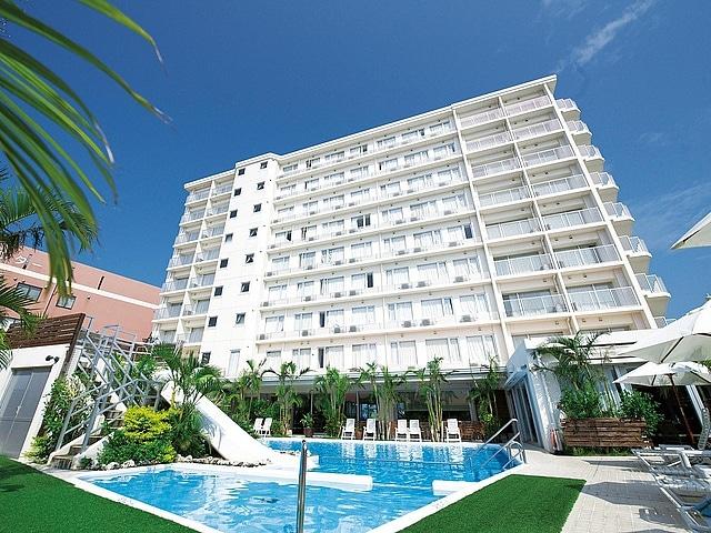 ホテルグランビューガーデン沖縄 外観