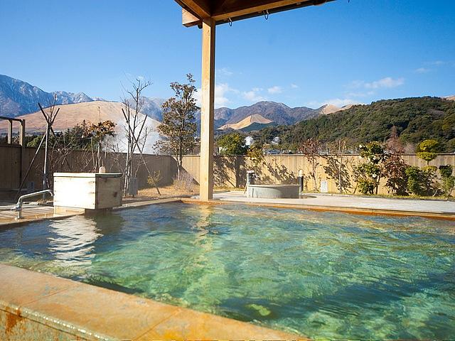 鉄輪温泉 おにやまホテル  展望露天風呂「空の湯」
