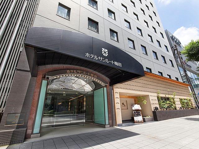 ホテルビナリオ梅田(旧ホテルサンルート梅田) 外観
