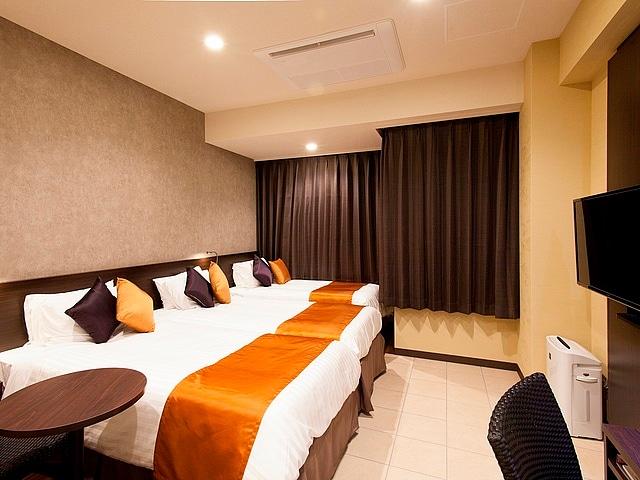 COMMUNITY&SPA那覇セントラルホテル メインタワー:3~4名1室(部屋タイプ無指定)25m2