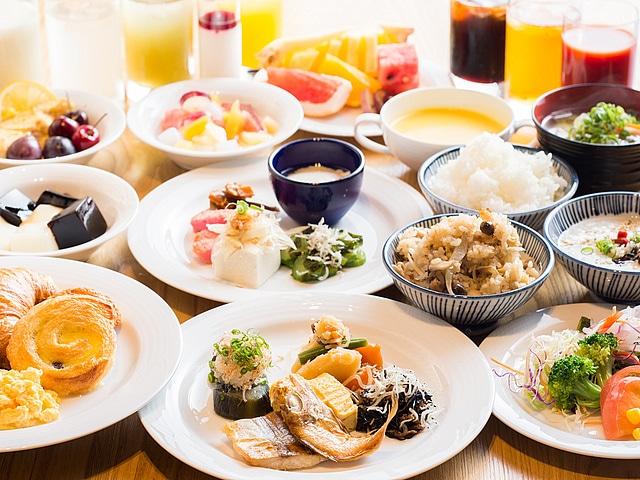 広島ワシントンホテル 朝食プレ-ト