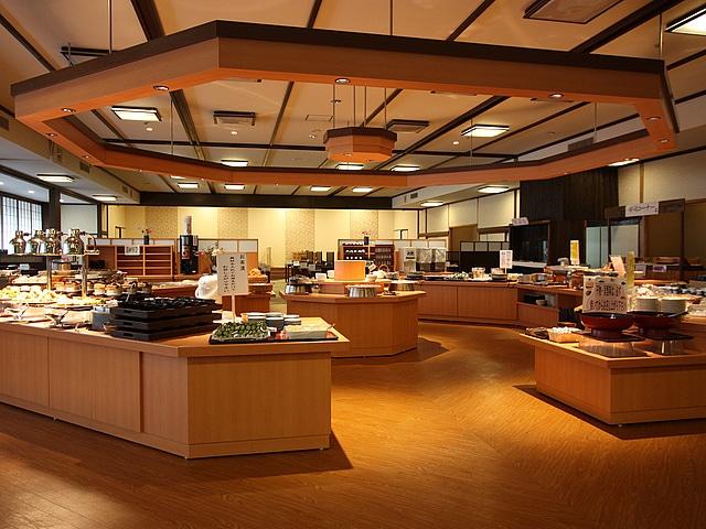 三朝温泉 三朝ロイヤルホテル レストラン「日本海」