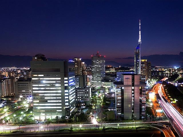 ヒルトン福岡シーホーク 夜景イメージ