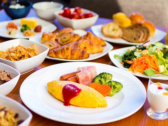 ヒルトン福岡シーホーク 朝食イメージ