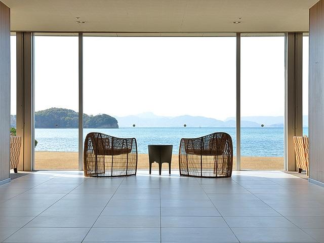 小豆島温泉 小豆島国際ホテル ロビー