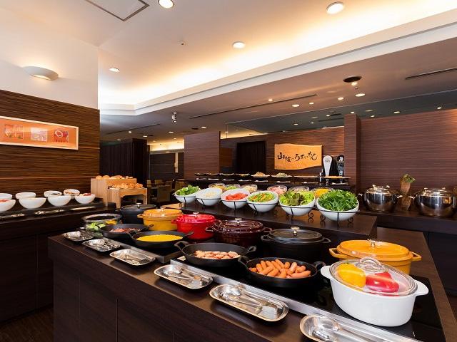 松江エクセルホテル東急 朝食ブッフェ