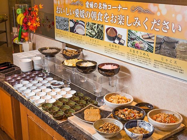 松山東急REIホテル 朝食一例