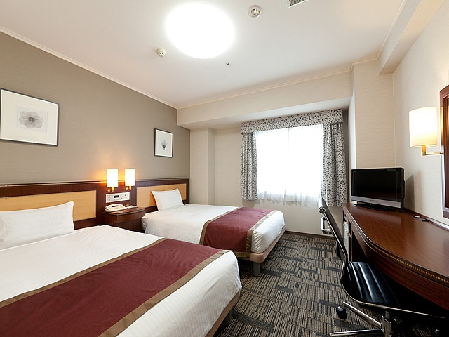 ホテル法華クラブ鹿児島 ツインルーム 18㎡