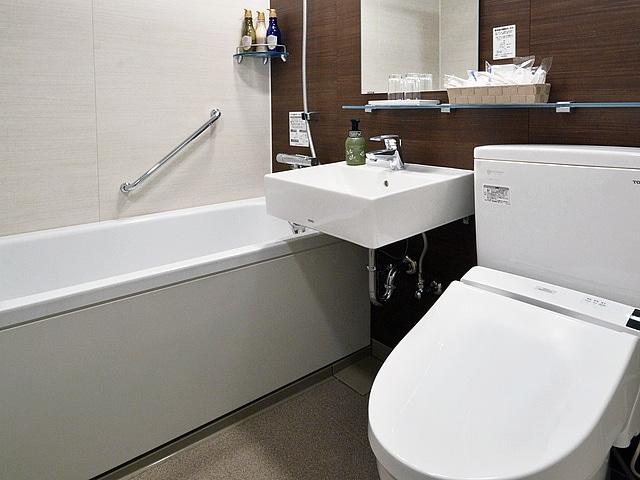 【西葛西】ベストウェスタン東京西葛西グランデ Bath Room(スーペリアツイン)