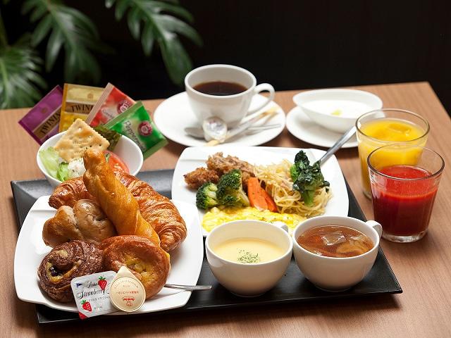 広島東急REIホテル 朝食一例