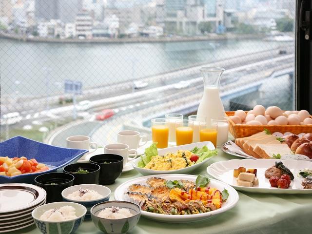 松江しんじ湖温泉 松江ニューアーバンホテル 朝食バイキング