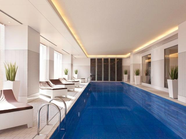 シェラトングランドホテル広島 プール・ジャグジー