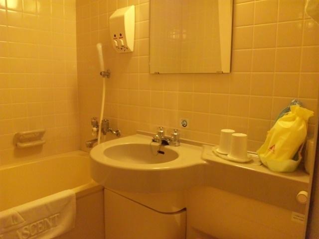 ホテルアセント福岡 バスルーム