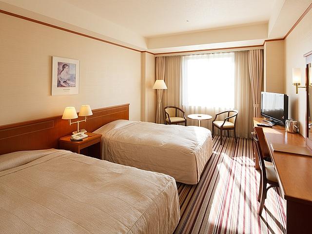 ホテルクラウンパレス小倉 ツインルーム 24.8㎡