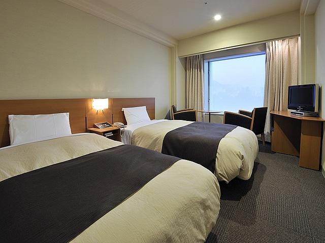 ホテルクラウンパレス北九州 ツインルーム 24㎡