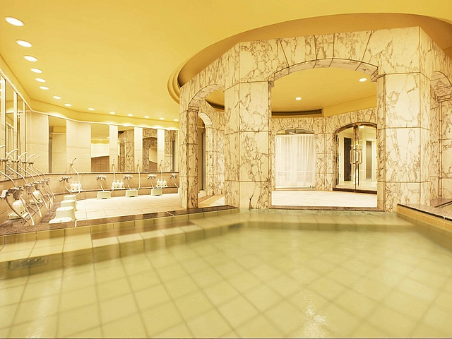 【舞浜】シェラトングランデトーキョーベイホテル 浴場「舞湯」