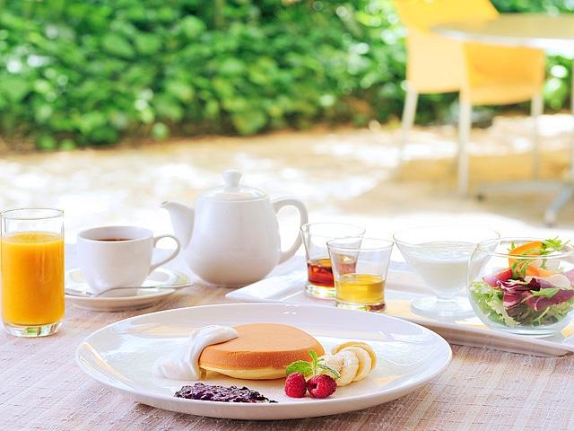 【白金台】シェラトン都ホテル東京 カフェ カリフォルニア パンケーキ ブレックファスト