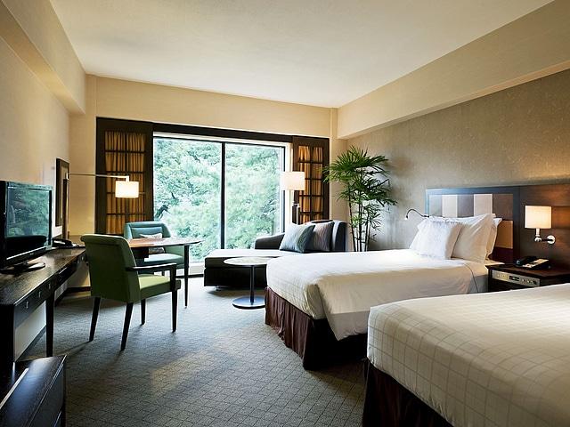 【白金台】シェラトン都ホテル東京 コンフォートフロアデラックスツイン