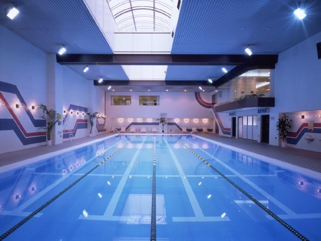 【白金台】シェラトン都ホテル東京 都ヘルスクラブ B1F 室内プール