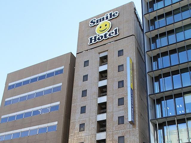 【茅場町】スマイルホテル東京日本橋 外観
