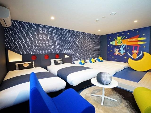 ラ・ジェント・ホテル大阪ベイ デラックス5(一例)(ベット2台+お布団3つ)