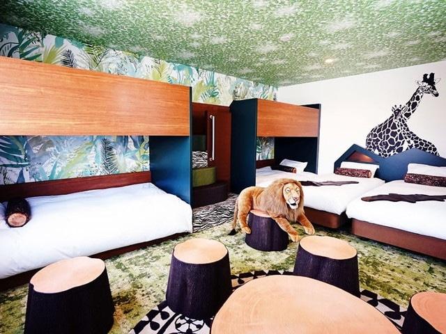 ラ・ジェント・ホテル大阪ベイ デラックス6(一例)(ベット2台+2段ベット2つ)